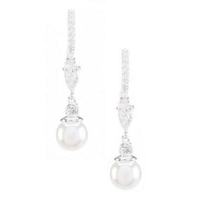 アンクライン レディース ピアス・イヤリング アクセサリー Faux-Pearl Drop Earrings