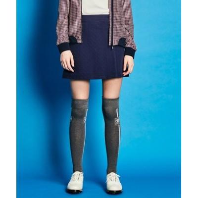 【WOMEN】【ストレッチ】ヘリンボーン スカート