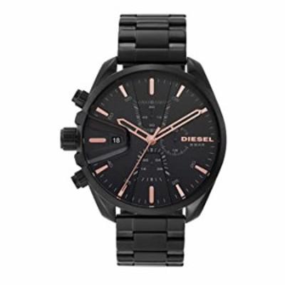 腕時計  Diesel MS9 クロノグラフ ステンレススチール 腕時計  DZ4524 One Size ブラック