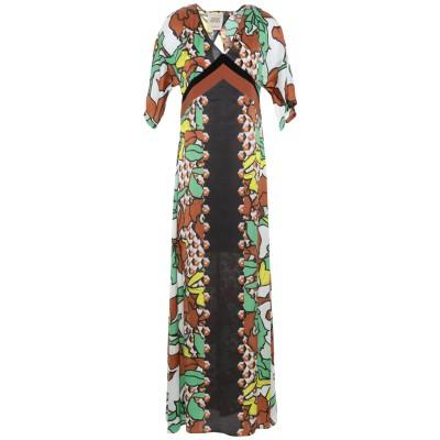 GARAGE NOUVEAU ロングワンピース&ドレス ライトグリーン 0 レーヨン 100% / アセテート / シルク ロングワンピース&ドレス