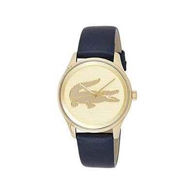 Lacoste Women's Victoria Stainless Steel Quartz Watch with Leather Strap, B 好評販売中