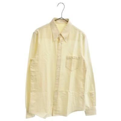 CICATA (シカタ) ポケット刺繍ボタンダウン長袖シャツ ホワイト
