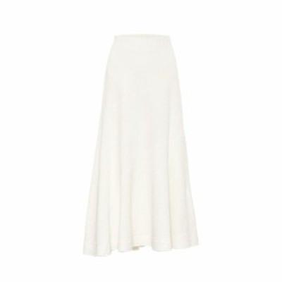 ジル サンダー Jil Sander レディース ひざ丈スカート スカート Linen-blend skirt Natural