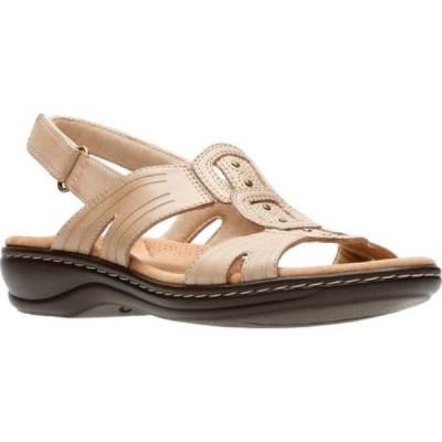 クラークス Clarks レディース サンダル・ミュール シューズ・靴 Leisa Vine Slingback Sand