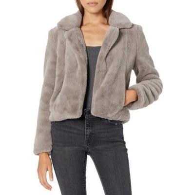ユニセックス ジャケット コート Faux Fur Jacket