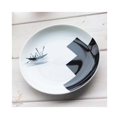 ムーミン モノクロシリーズ パンプレート 小皿 14.5cm(ニョロニョロ)