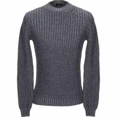 ロベルトコリーナ ROBERTO COLLINA メンズ ニット・セーター トップス sweater Steel grey