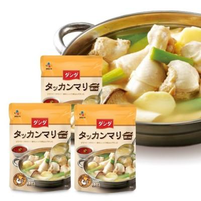 ダシダタッカンマリ鍋つゆ 3個セット タッカンマリ 鍋 鍋の素 スープ