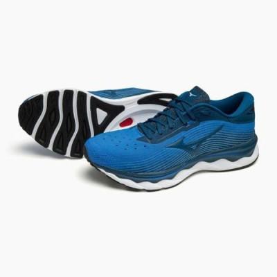 (予約)ウエーブスカイ5(ランニング)(メンズ) 【MIZUNO】ミズノ ランニング シューズ フルマラソン完走目標 (J1GC2102)