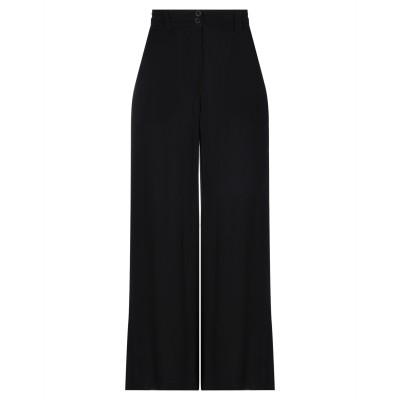LOST & FOUND パンツ ブラック M シルク 100% パンツ