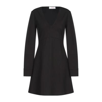 ジャッカ JUCCA ミニワンピース&ドレス ブラック 38 レーヨン 69% / ナイロン 25% / ポリウレタン 6% ミニワンピース&ドレス