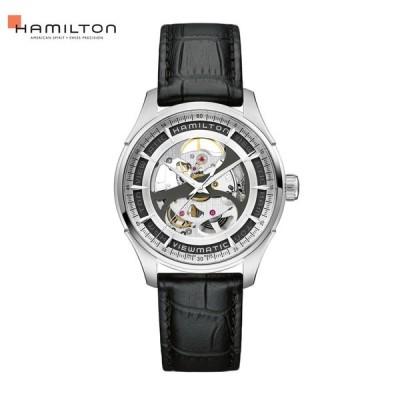 自動巻 ハミルトン HAMILTON 腕時計 メンズ ジャズマスター ビューマチック スケルトン ジェント オート H42555751