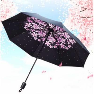 晴雨兼用 日傘 折りたたみ傘  uvカット 100%完全遮光 レディース ひんやり 遮熱 雨傘 しわ対策 デザインが多い  傘