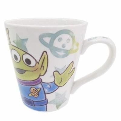 トイストーリー エイリアン コップ 陶器製マグカップ ファジー柄 ディズニー キャラクター グッズ