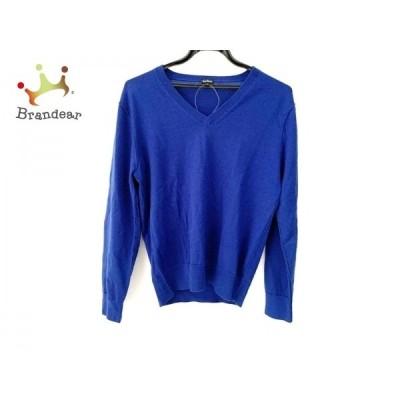 ポールスミス PaulSmith 長袖セーター サイズL レディース 美品 ブルー 新着 20200328