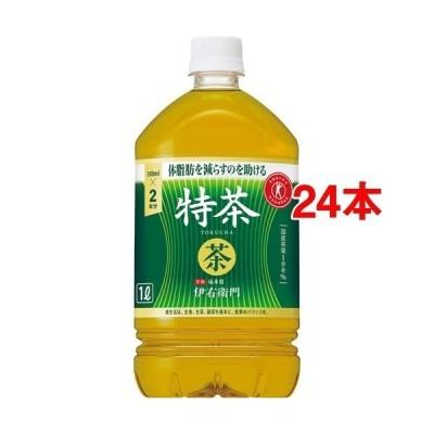 サントリー 伊右衛門 特茶 特定保健用食品 ( 1L*12本入*2コセット )/ 特茶