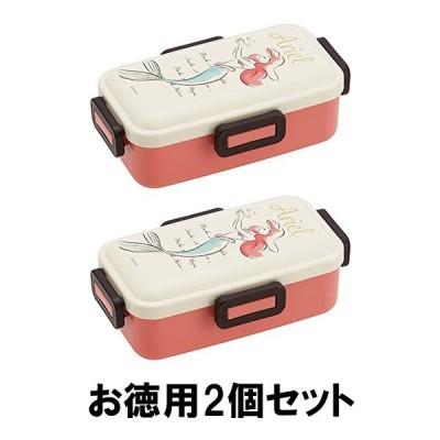 弁当箱 おしゃれ アリエル ディズニー ド ーム型 日本製 スケーター お得 2個 セット