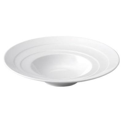 洋陶器 オープン/エスカリエ 26cmリム型スープ [D26.2 x 5.3cm] 特白磁 料亭 旅館 和食器 飲食店 業務用