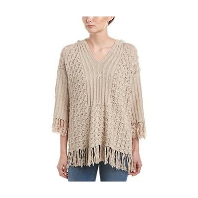 並行輸入品Trina TurkレディースCleo Pimaコットンフード付きセーター US サイズ: M カラー: ベージュ
