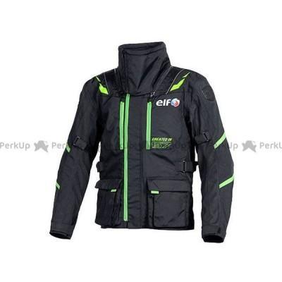 【無料雑誌付き】elf riding wear ジャケット EL-8244 アッベントゥーレロングジャケット(グリーン) サイズ:M 送料無料 エル…