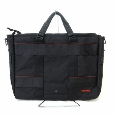 【中古】ブリーフィング BRIEFING ブリーフケース ビジネスバッグ 書類カバン USA製 マルチポケット 黒 ブラック RRR メンズ