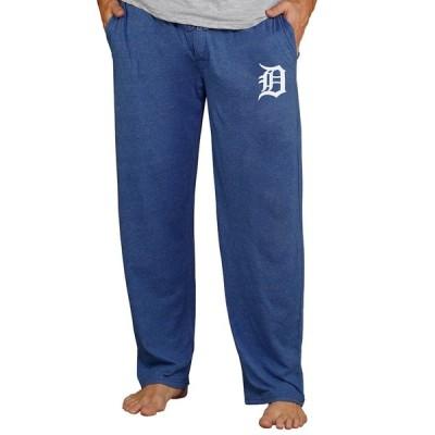 """メンズ スウェット """"Detroit Tigers"""" Concepts Sport Quest Lounge Pants - Navy"""
