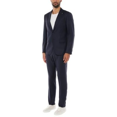 DURINI  Milano スーツ ダークブルー 54 ウール 100% スーツ