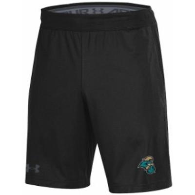 Under Armour アンダー アーマー スポーツ用品  Under Armour Coastal Carolina Chanticleers Black MK-1 Shorts