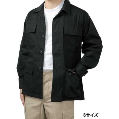 US.ブラック、リップストップジャケット(新品)A1BN