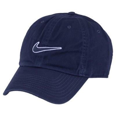 NIKE ナイキ H86 CAP ESSENTIAL SW 943091 451 メンズ レディース キャップ 帽子 ネイビーブルー ロゴ 刺繍 ワンポイント ユニセックス 男女兼用 スポーツ(ni