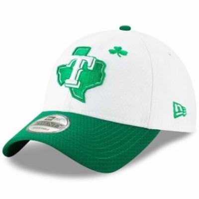 New Era ニュー エラ スポーツ用品  New Era Texas Rangers White/Kelly Green 2019 St. Patricks Day 9TWENTY Adjustable Hat
