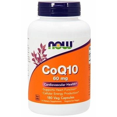 CoQ10、60 mg、180植物性カプセル