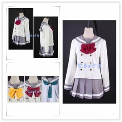 ラブライブ サンシャイン lovelivesunshine  Aqours 秋制服 セーラー服  イベント  コスチューム コスプレ衣装 cosplay衣装