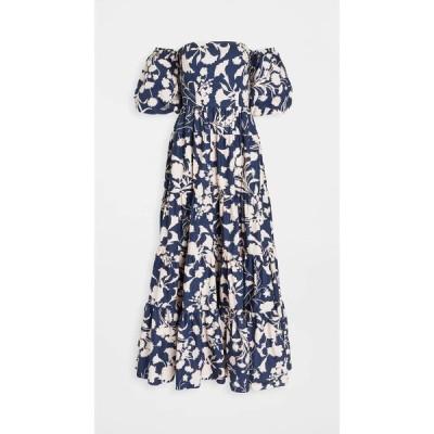 カラ カラ Cara Cara レディース ワンピース ワンピース・ドレス Wethersfield Off Shoulder Dress Monochome Navy Blush
