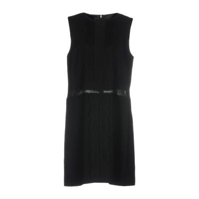 ELISABETTA FRANCHI ミニワンピース&ドレス ブラック 40 ポリエステル 100% / ポリウレタン / ナイロン ミニワンピース