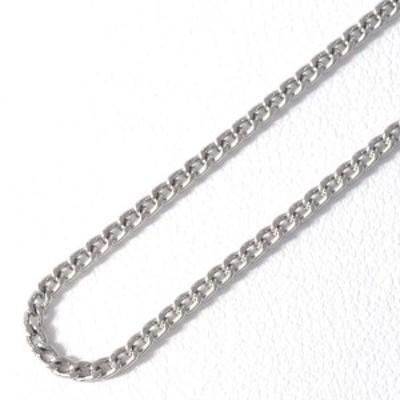 PT850 プラチナ ネックレス 約42cm 喜平 キヘイ 2面 総重量約5.4g 中古ジュエリー