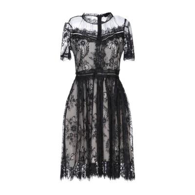 ODÌ ODÌ ミニワンピース&ドレス ブラック S ポリエステル 100% ミニワンピース&ドレス