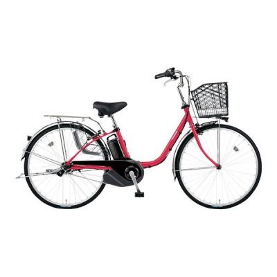 PANASONIC BE-ELSX432-R レッドジンジャー ビビ・SX [電動アシスト自転車(24インチ・内装3段)] 電動自転車