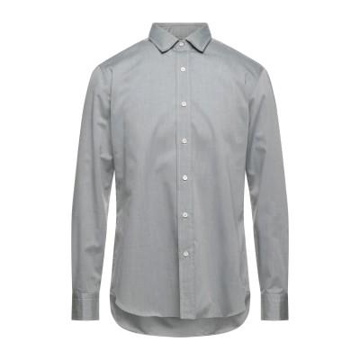 サルヴァトーレ・ピッコロ SALVATORE PICCOLO シャツ グレー 38 コットン 100% シャツ