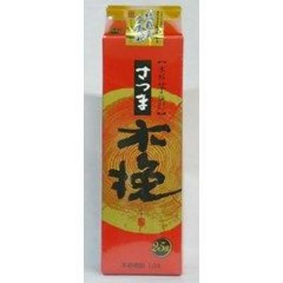 芋焼酎 雲海酒造 さつま木挽 25度 1800ml 1.8L 紙パック いも焼酎