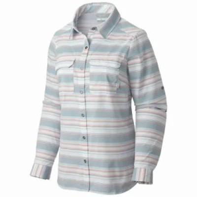 コロンビア ブラウス・シャツ Columbia Pilsner Peak Stripe LS Shirt Cloudburst Stripe