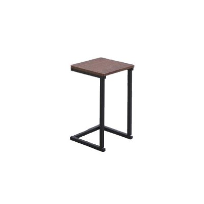 アイリスオーヤマ サイドテーブル(ブラウンオーク/ ブラック・幅29×奥行29×高さ52.2cm) IRIS SDT-29 返品種別A