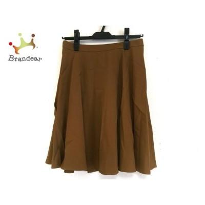 ニジュウサンク 23区 スカート サイズ38 M レディース ライトブラウン     スペシャル特価 20200510