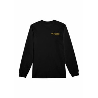 コロンビア メンズ Tシャツ トップス PHG Long Sleeve Portal Duck T-Shirt Black