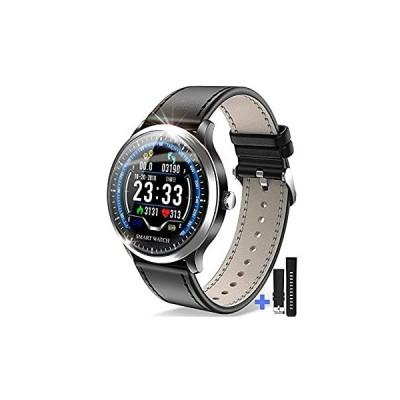 【令和モデル】 スマートウォッチ 最新版 光学式心拍センサー スマートブレスレット 歩数計 活動量計 IP67防水 消費カロリー カラースクリーン 腕時計 着信