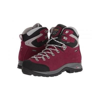 Asolo アゾロ レディース 女性用 シューズ 靴 ブーツ ハイキングブーツ Greenwood GV ML - Grapeade