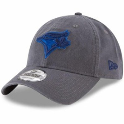 New Era ニュー エラ スポーツ用品  New Era Toronto Blue Jays Graphite Primary Logo Core Classic 9TWENTY Adjustable Hat