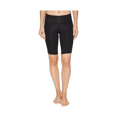 2XU ツータイムズユー レディース 女性用 ファッション ショートパンツ 短パン Mid-Rise Compression Short - Black/Dotted Black Logo