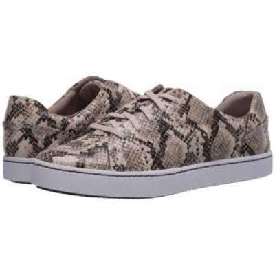 Clarks クラークス レディース 女性用 シューズ 靴 スニーカー 運動靴 Pawley Springs Taupe Snake Synthetic【送料無料】