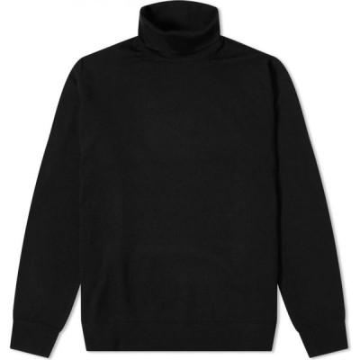 アクネ ストゥディオズ Acne Studios メンズ ニット・セーター トップス kage roll neck knit Black